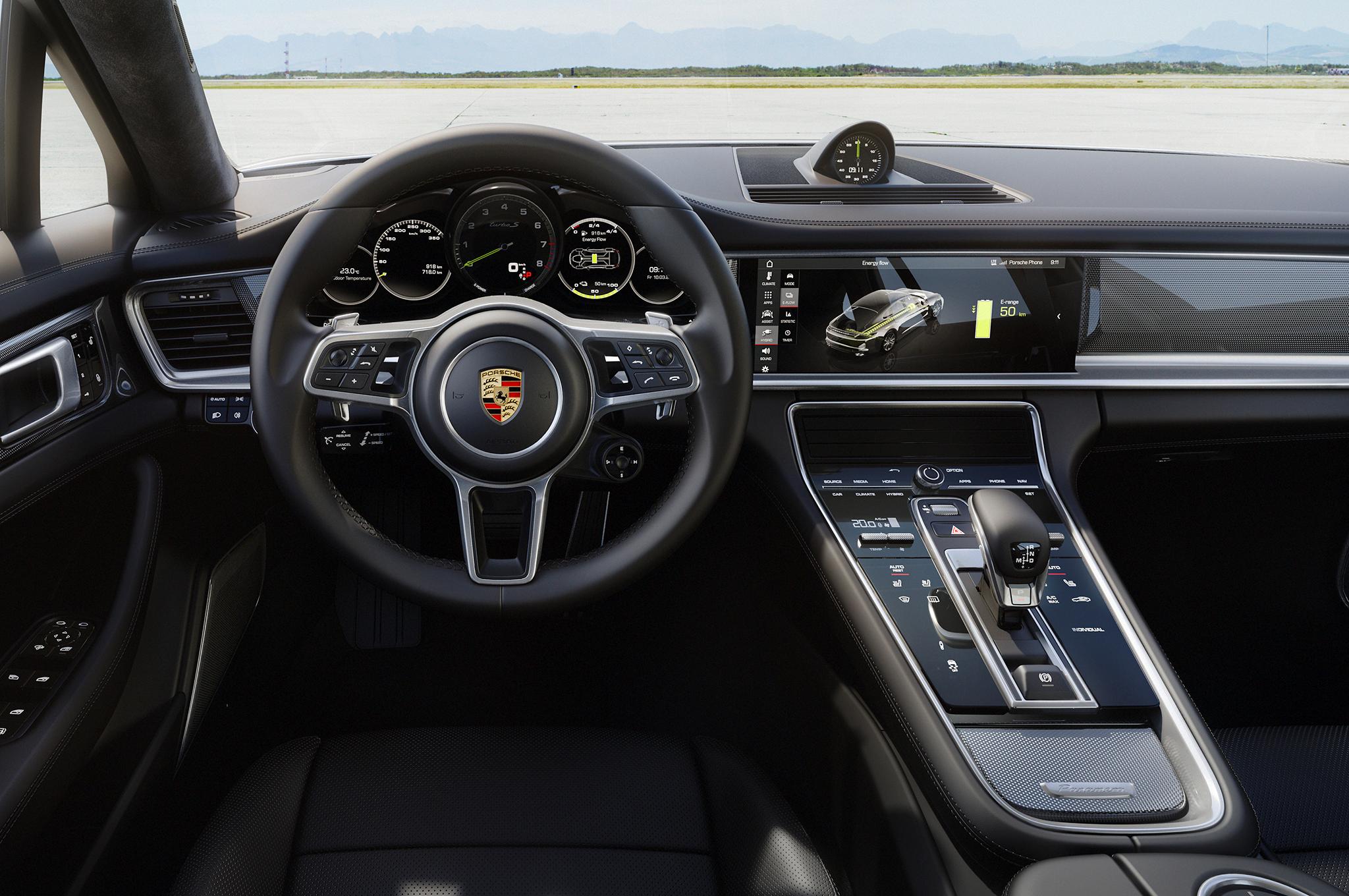 2018 Porsche Panamera Turbo S E Hybrid Interior