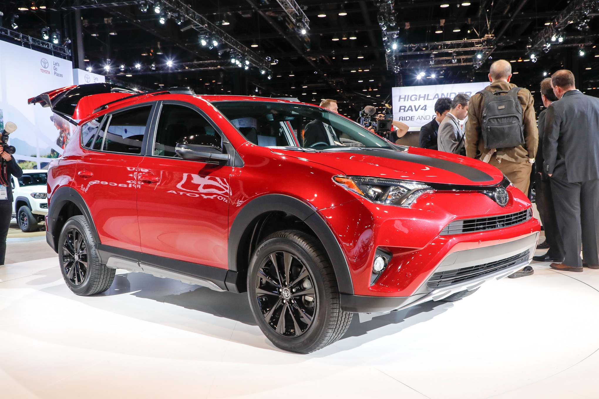 Toyota Sequoia And Tundra Trd Sport Rav4 Adventure Join