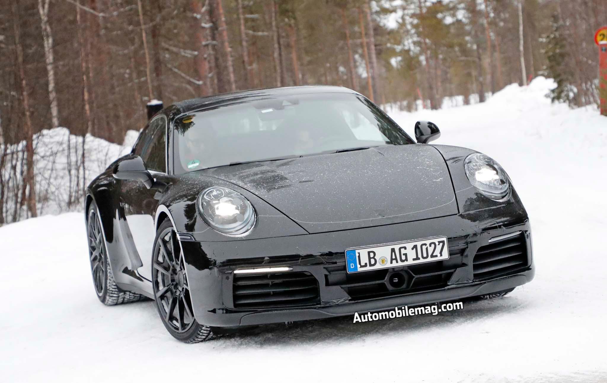 2019 Porsche 911 Prototype Front End 04