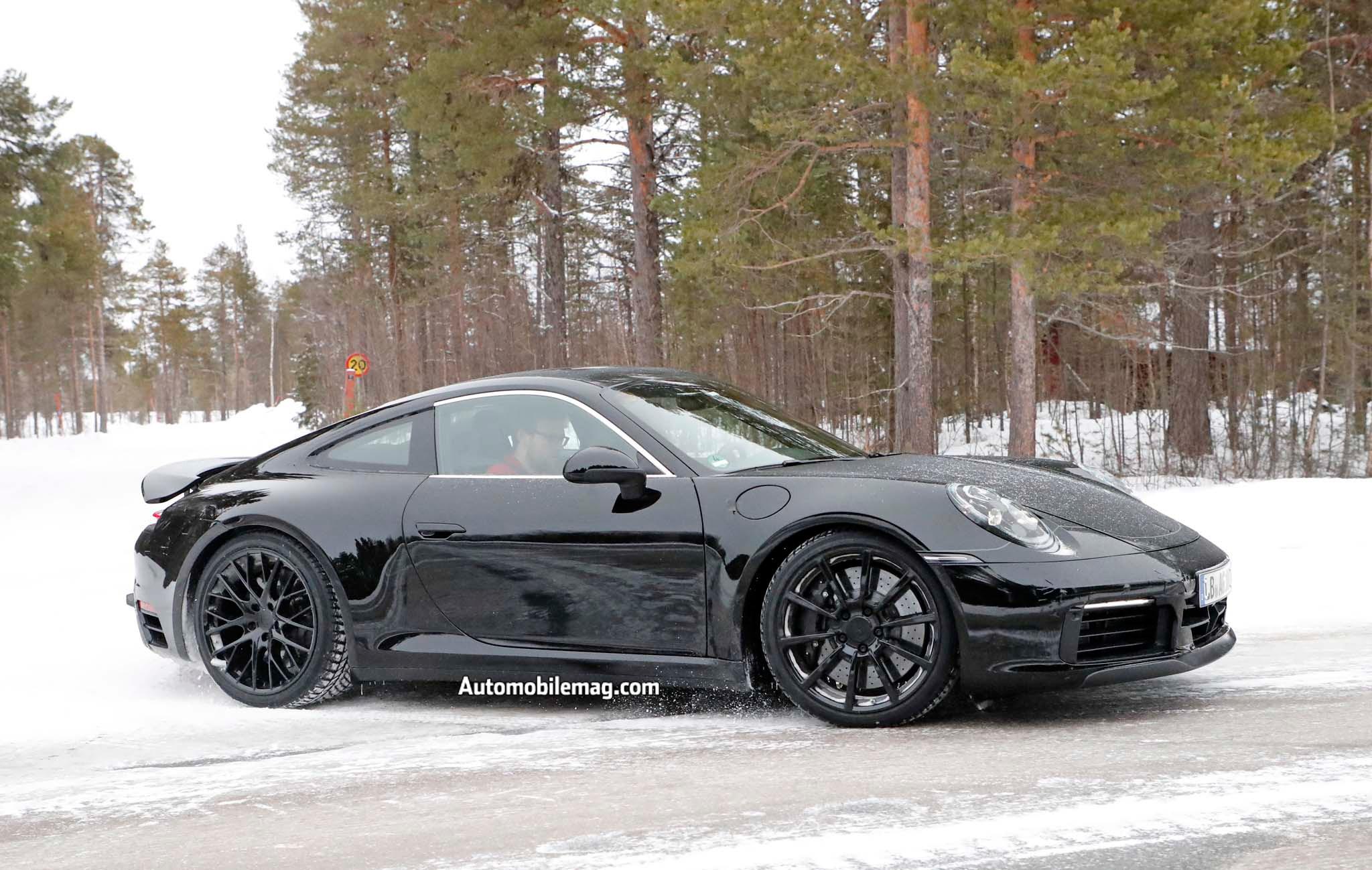 Spied 2019 Porsche 911 Automobile Magazine