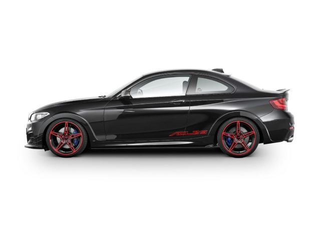 AC Schnitzer ACL2S Special Anniversary Conversion limited to 30 for BMW M240i Side Black