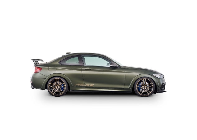 AC Schnitzer ACL2S Special Anniversary Conversion limited to 30 for BMW M240i Side Green