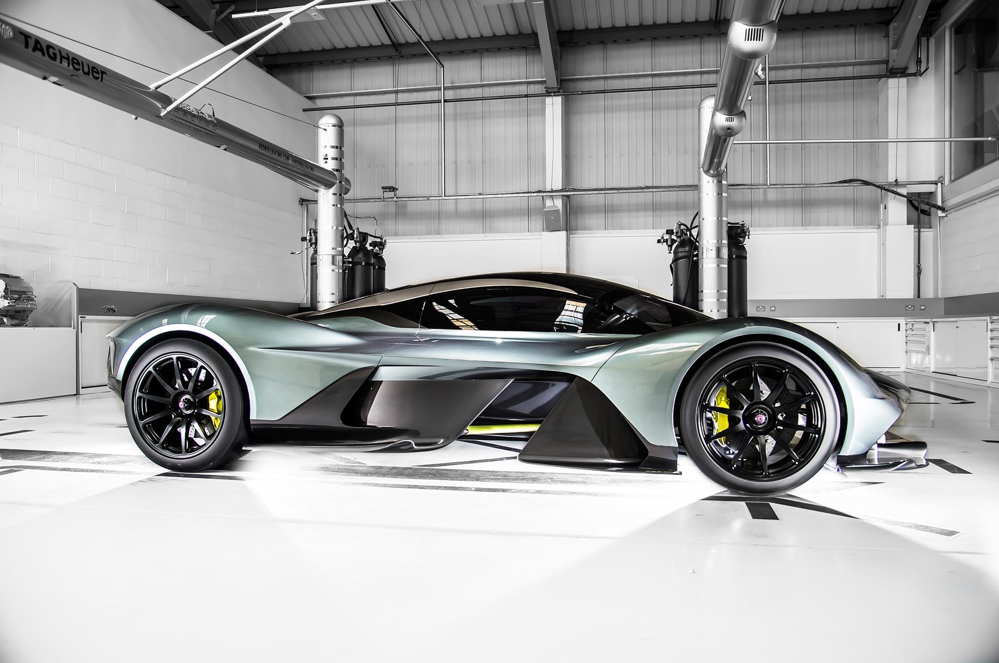 Aston Martin AM RB 001 Hypercar Side 16