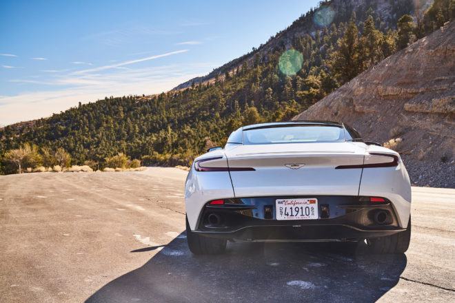 Aston Martin DB11 2017 All Stars Competitor Rear