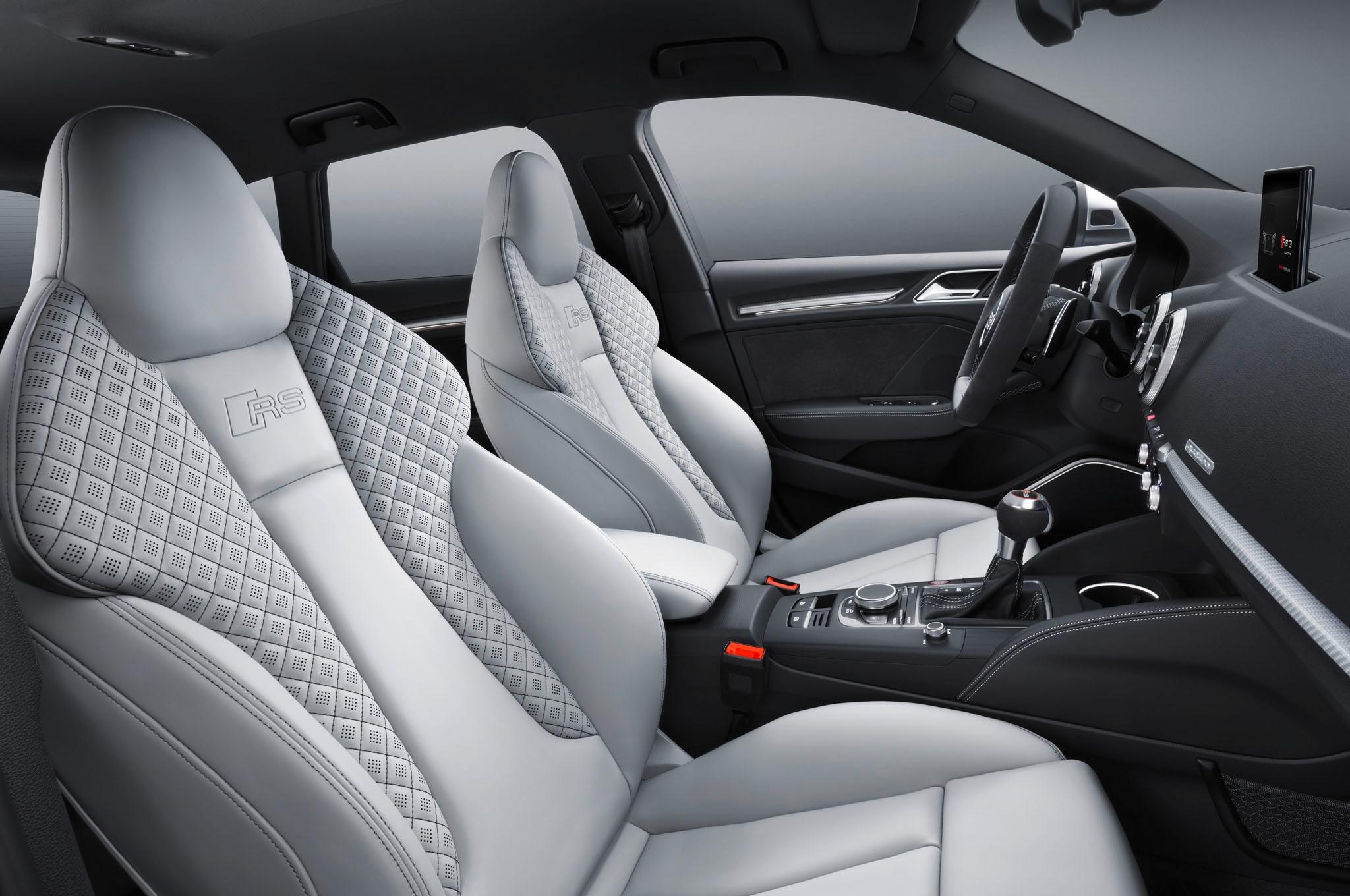 Audi RS 3 Sportback Seats