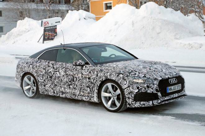Audi RS5 spy photos 08