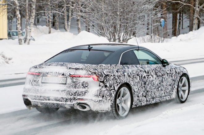 Audi RS5 spy photos 11