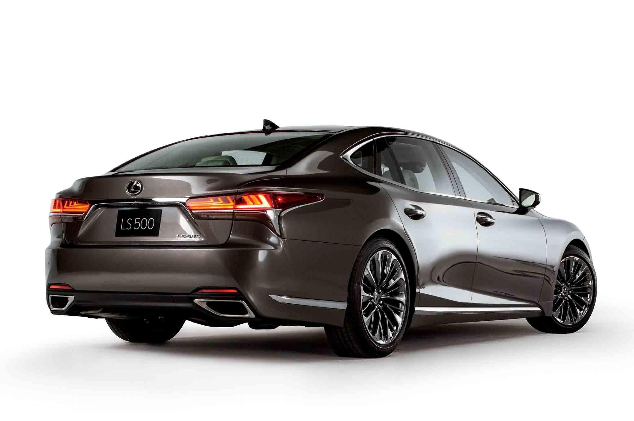 By Design 2018 Lexus Ls Automobile Magazine
