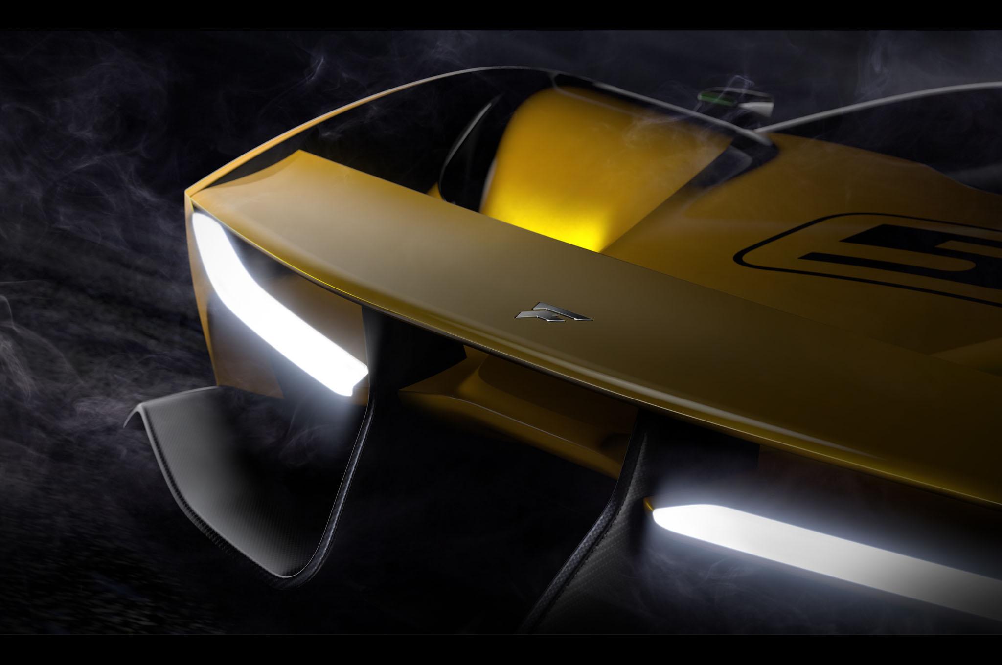 Fittipaldi EF7 Vision Gran Turismo By Pininfarina Teaser