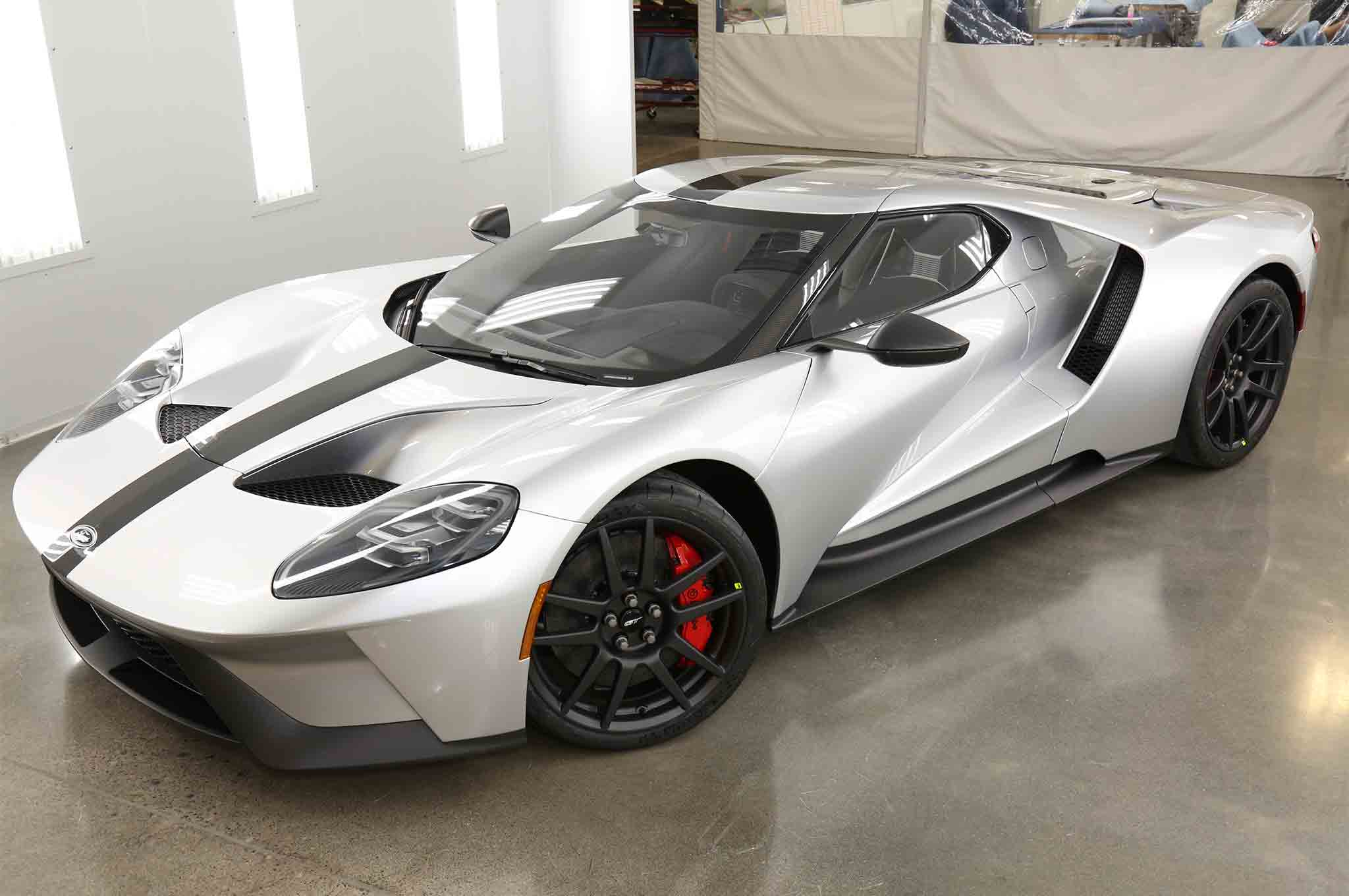 Ford Gt Competition Series Adds Hardcore Touches To The New Supercar