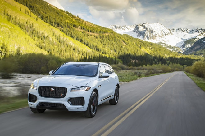Jaguar updates F-Pace, XE and XF with new engines and tech
