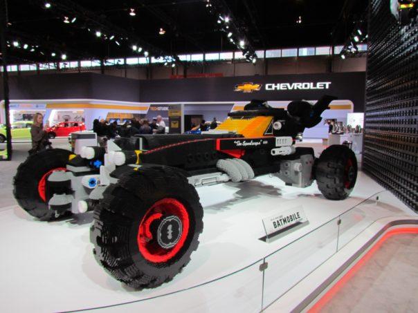 Lego Batmobile Build Station