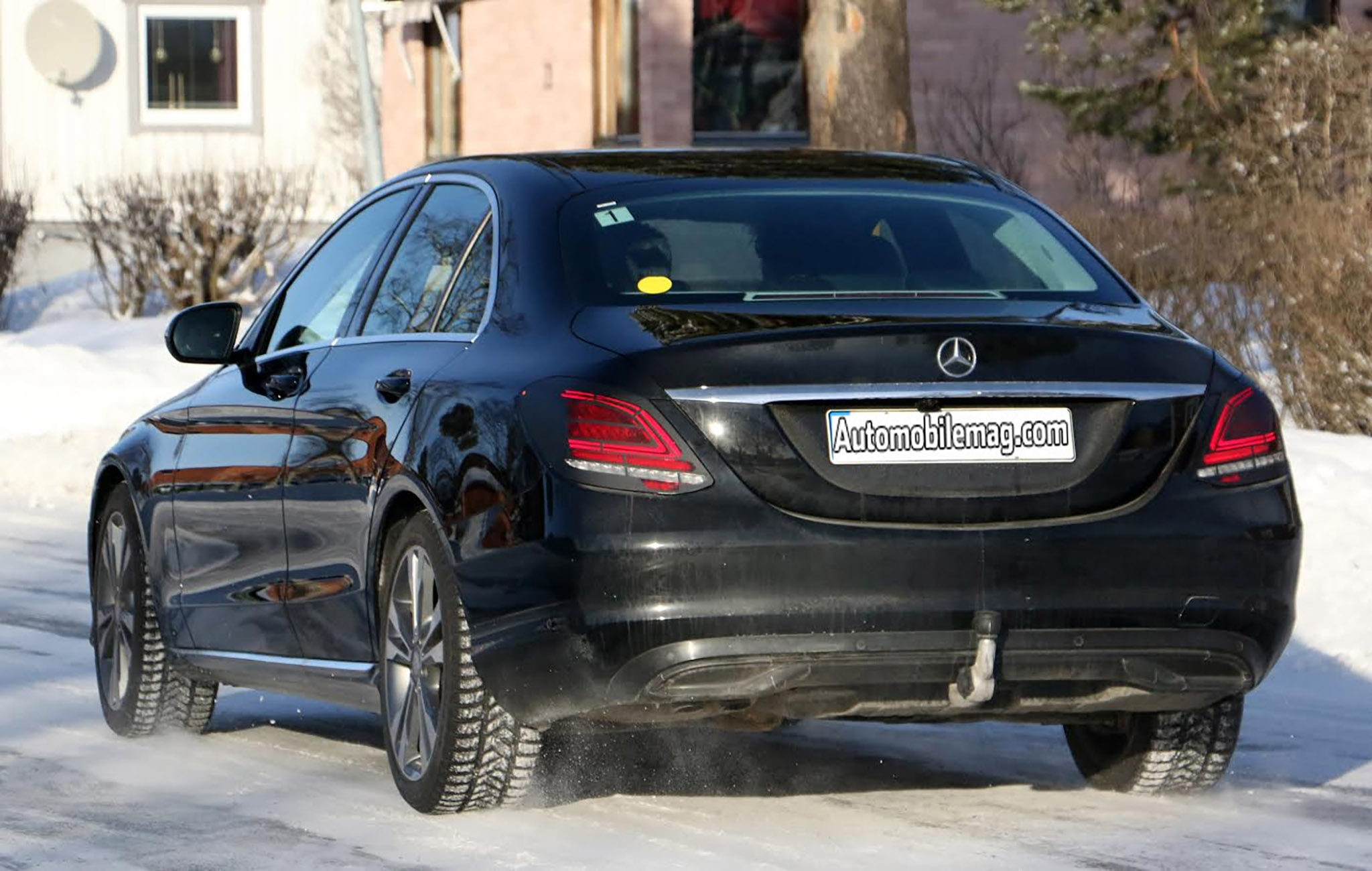 2018 Mercedes C300 Price >> 2018 Mercedes-Benz C-Class Spied with Tweaks | Automobile Magazine