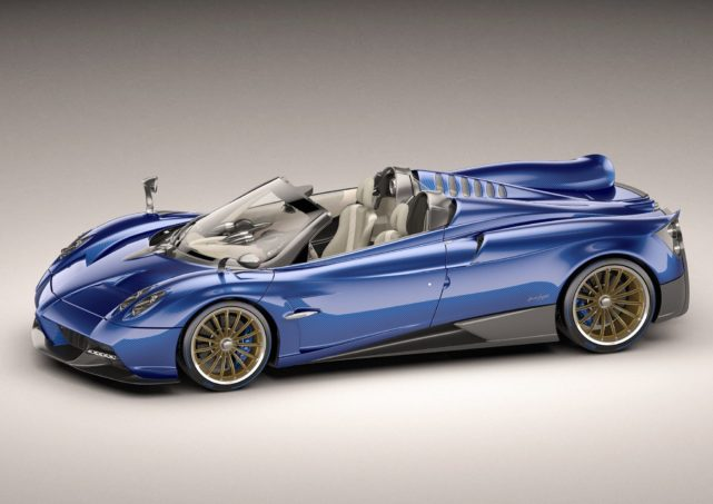 Pagani removes the roof from its Huayra supercar, lowers your jaw