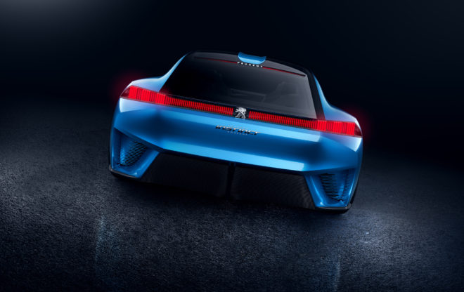 Peugeot Instinct Concept Rear