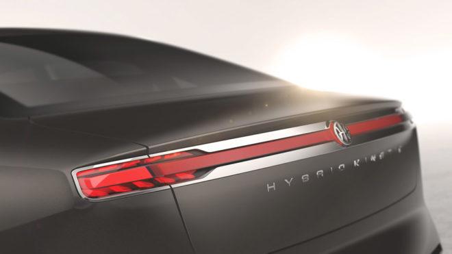 Pininfarina H600 Concept Rear