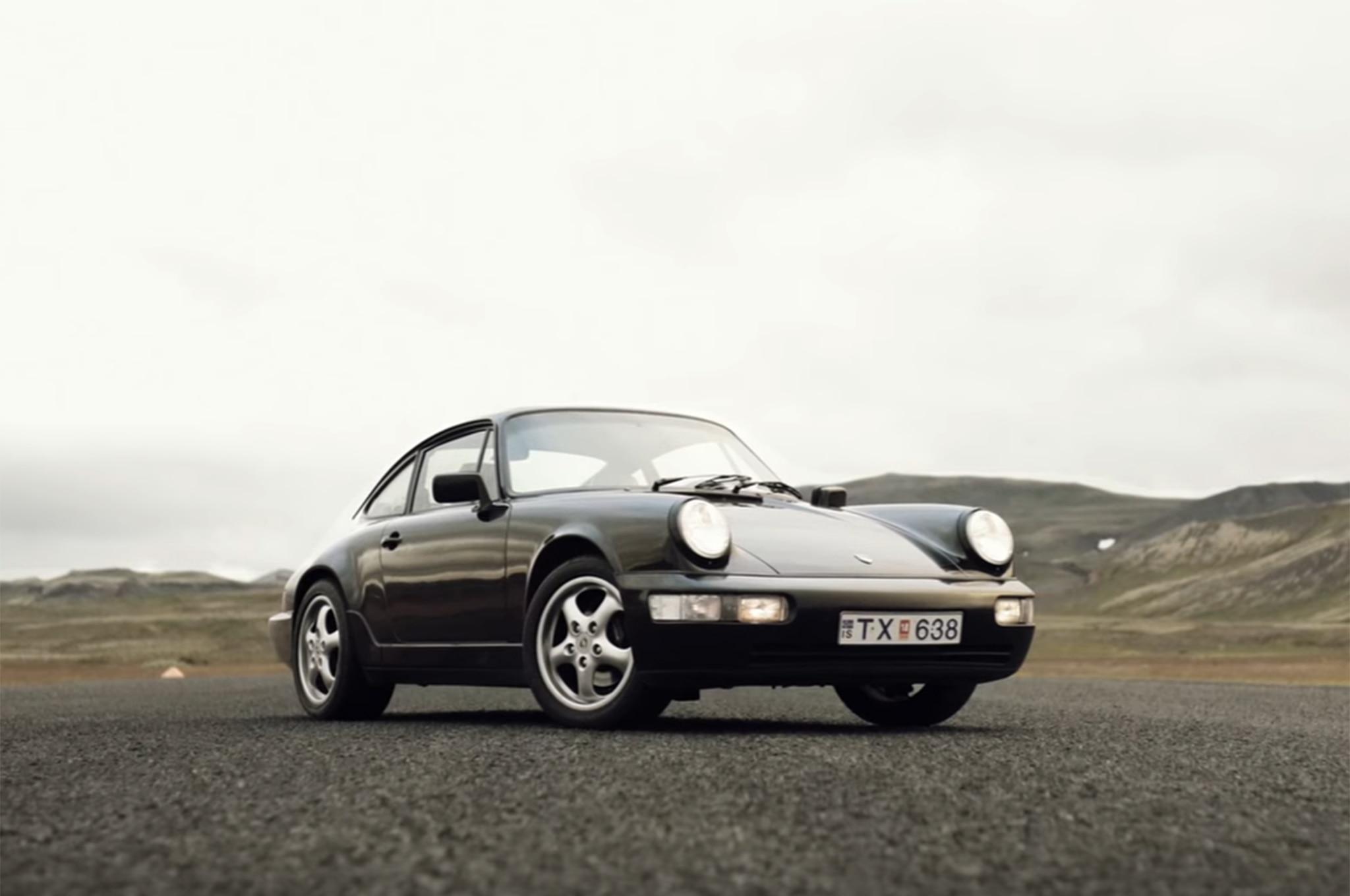 Porsche 964 Iceland Petrolicious Screenshot