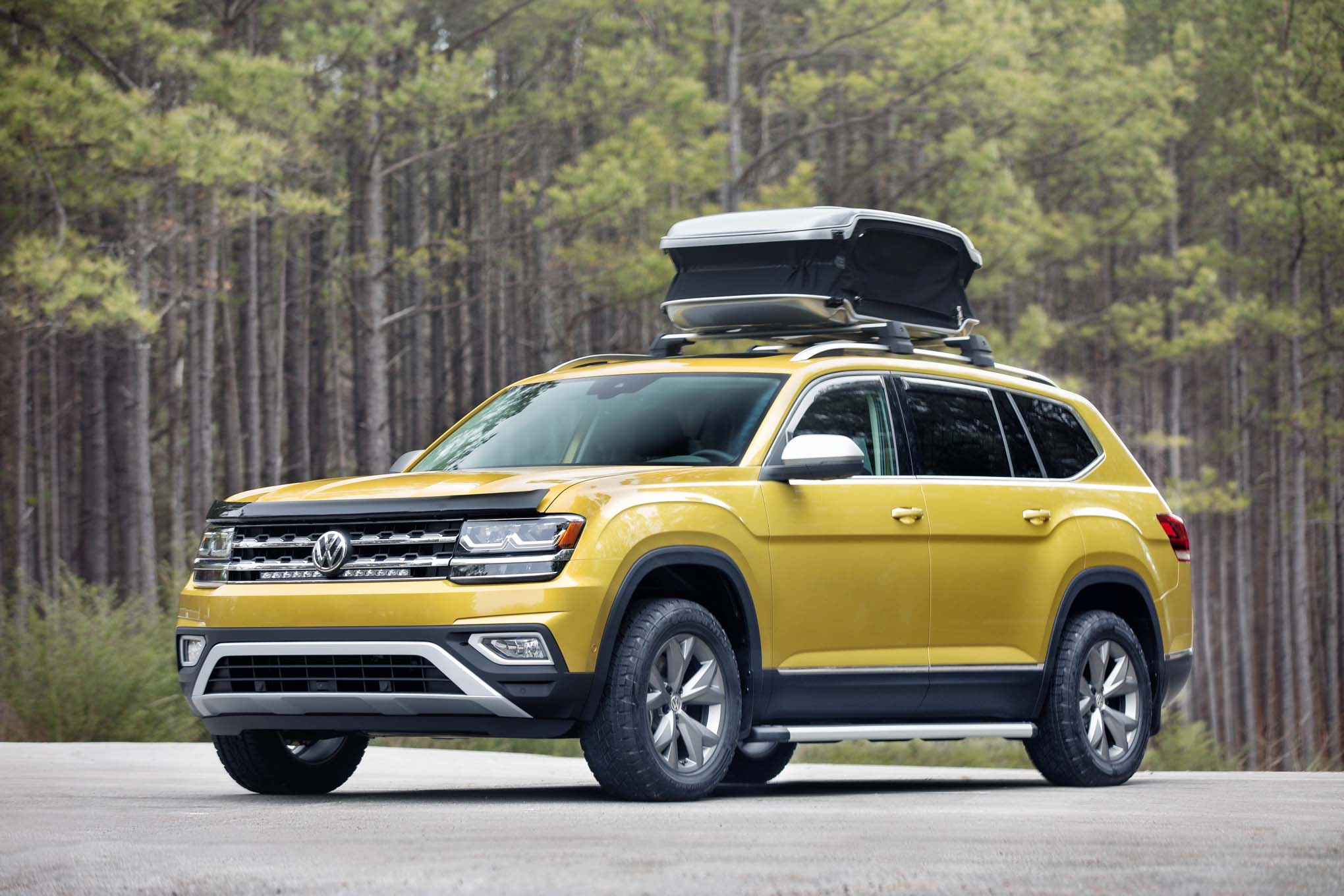 2018 Volkswagen Atlas Weekend Edition Concept Is Ready To Road