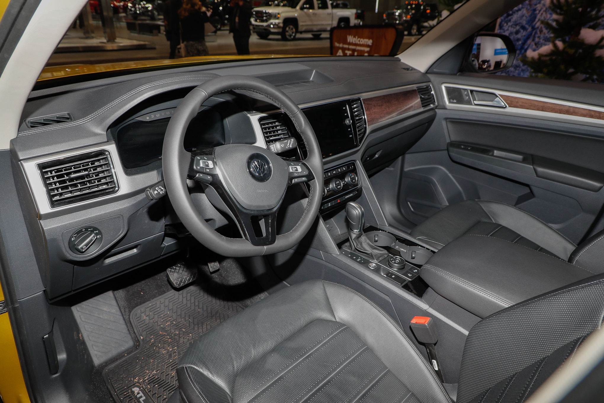 100 Volkswagen Atlas Sel Interior Vw Atlas 2017