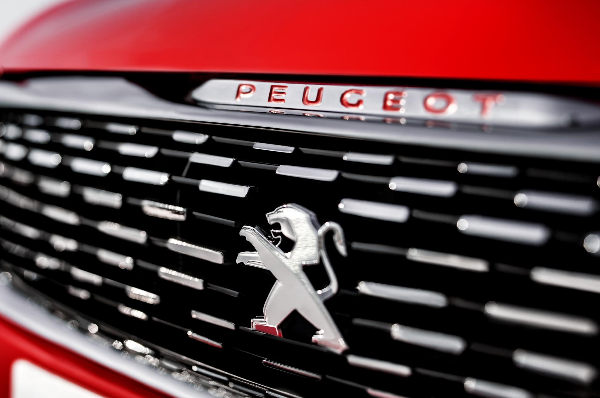 Peugeot 3085 Concept Badge