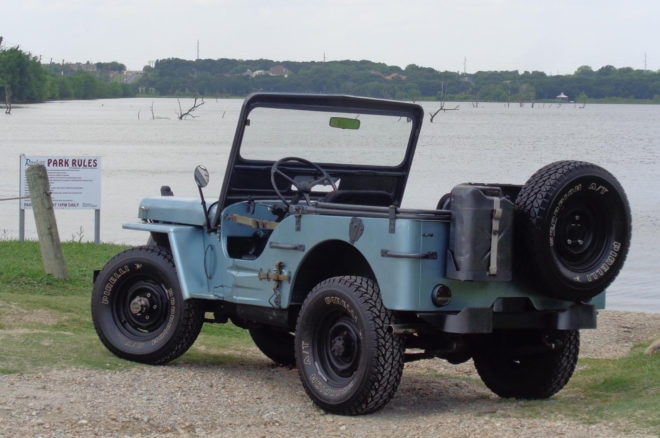 1944 Ford GPW Just Listed Rear Three Quarters
