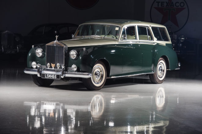 1959 Rolls Royce Silver Cloud I Estate RM Sothebys Front Three Quarters