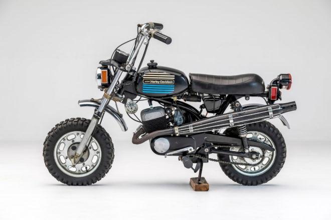 1975 Harley Davidson X90 Mini Bike 660x440