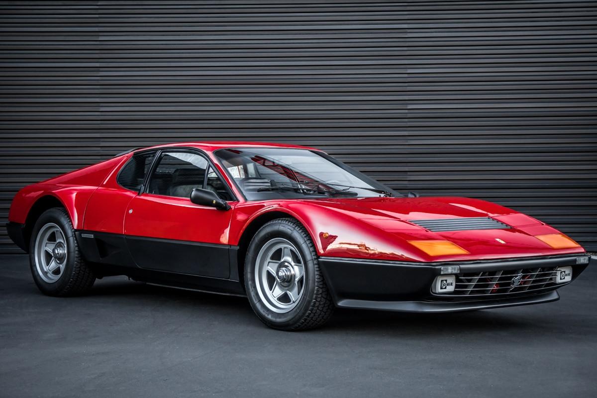 1983 Ferrari 512 BBi Front Three Quarter