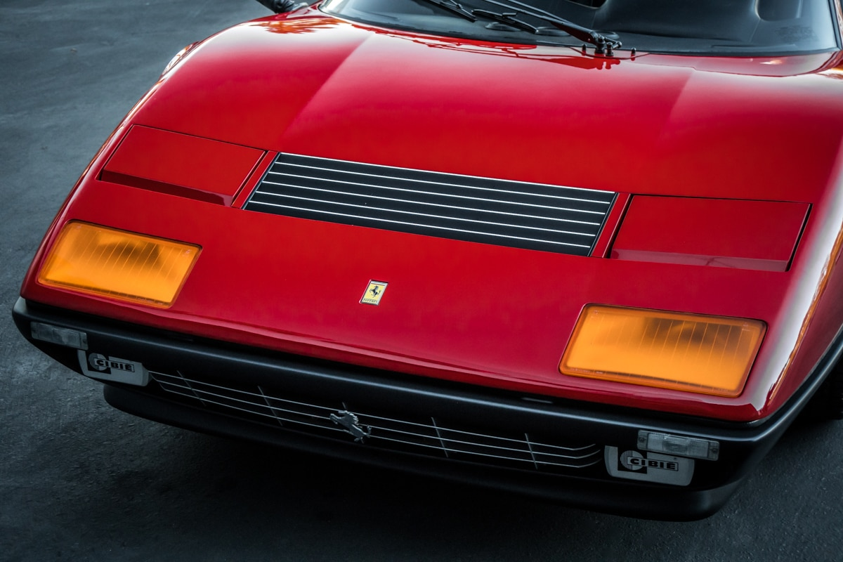 1983 Ferrari 512 BBi Grille