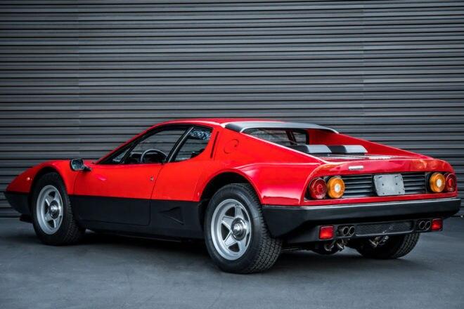1983 Ferrari 512 BBi Rear Three Quarter