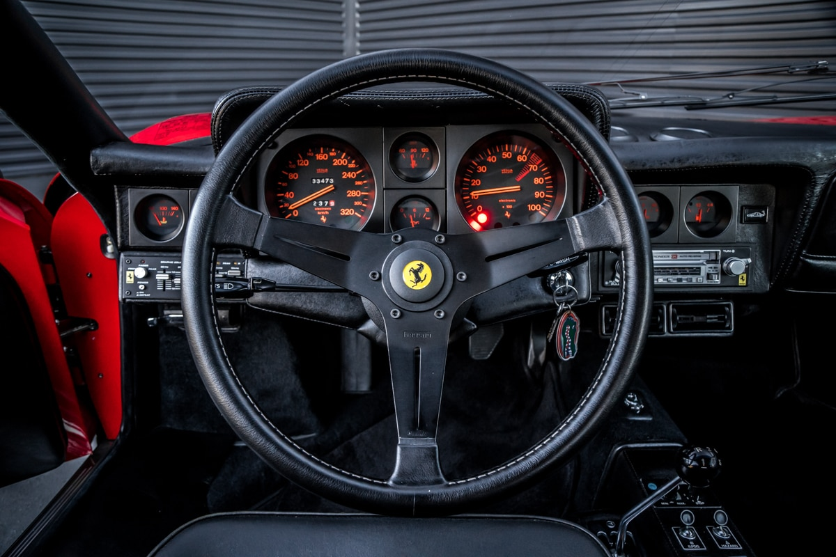 1983 Ferrari 512 BBi Wheel