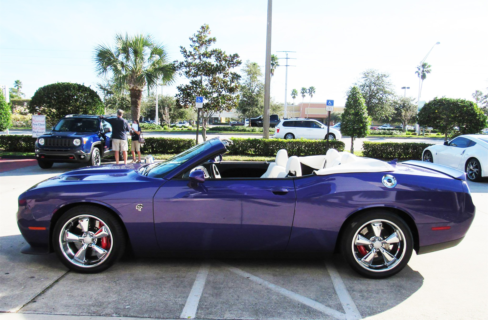 2016 Dodge Challenger Convertible SRT Hellcat Side New