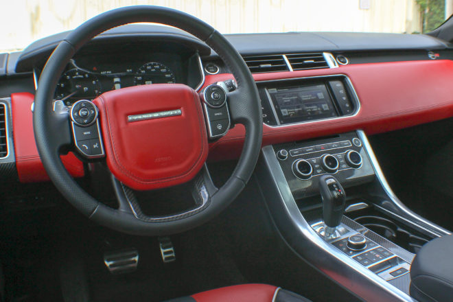 2016 Land Rover Range Rover SVR interior