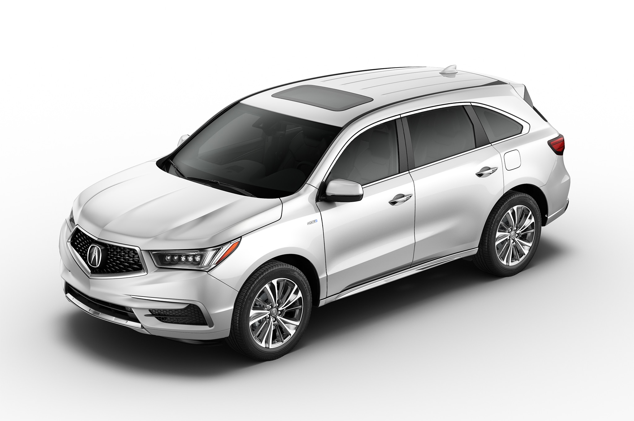 2017 Acura MDX Sport Hybrid Front Three Quarters