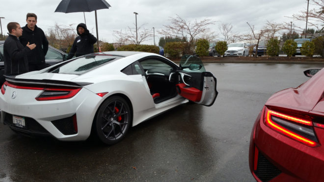 2017 Acura NSX Door