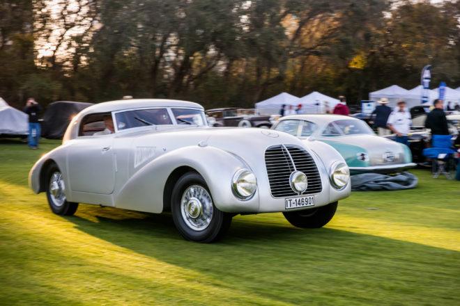 2017 Amelia Island Concours dElegance 1938 Mercedes Benz 540 K Streamliner 01