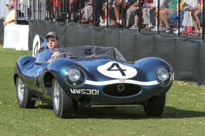2017 Amelia Island Concours dElegance 1955 Jaguar D Type 04