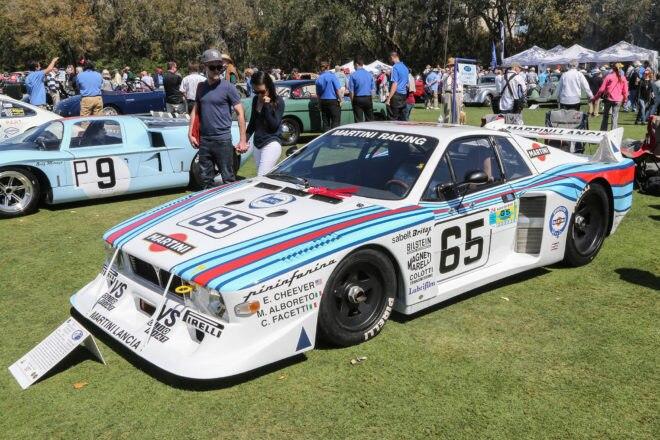 2017 Amelia Island Concours dElegance 1980 Lancia Beta Montecarlo 04