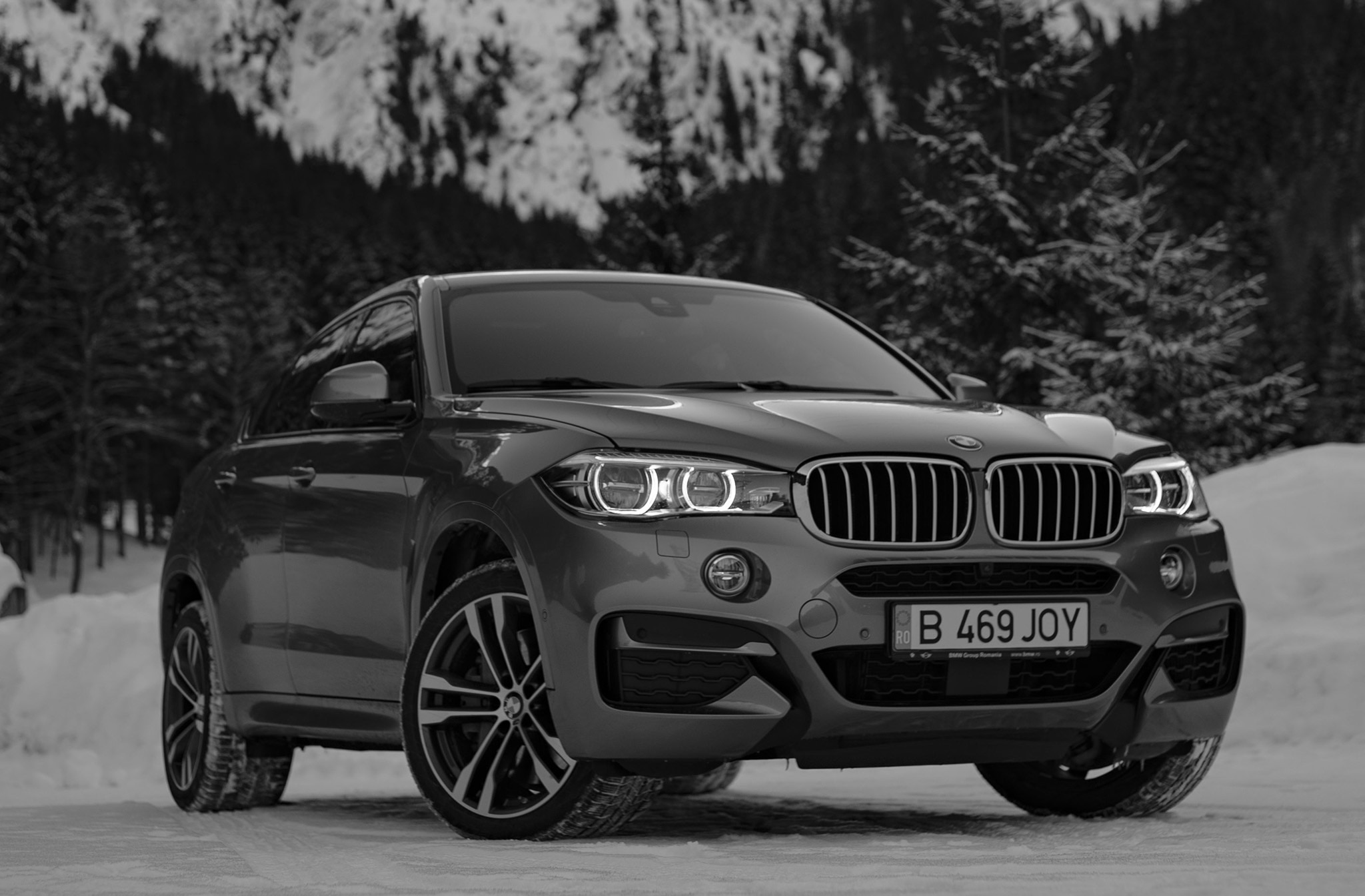 Watch a BMW X6 Take on Romanian Roads | Automobile Magazine