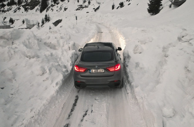 2017 BMW X6 M50d xDrive Frozen Romania Rear