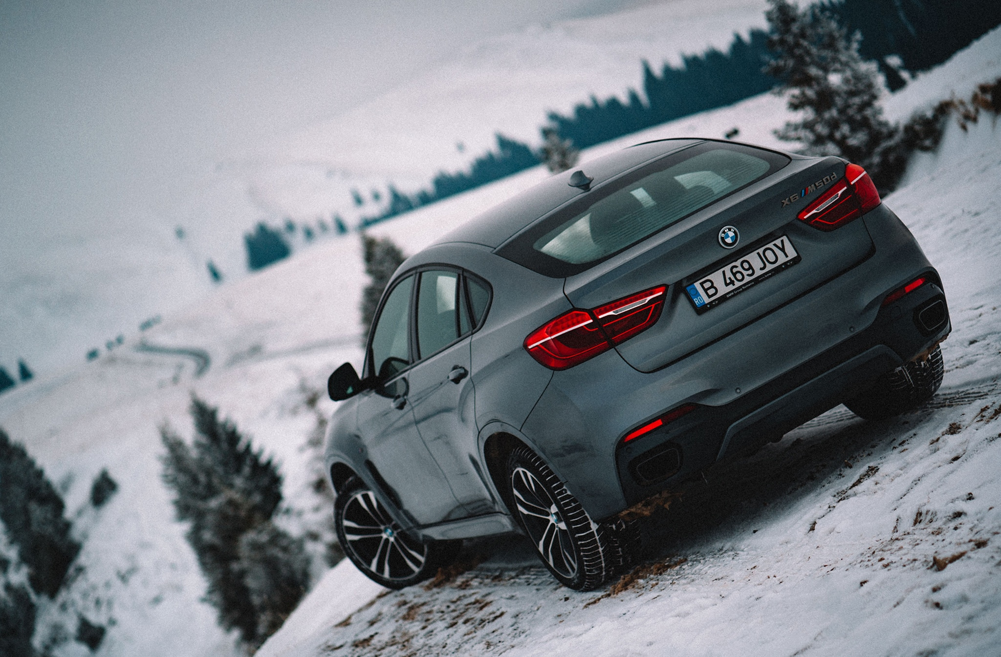 2017 BMW X6 M50d XDrive Rear
