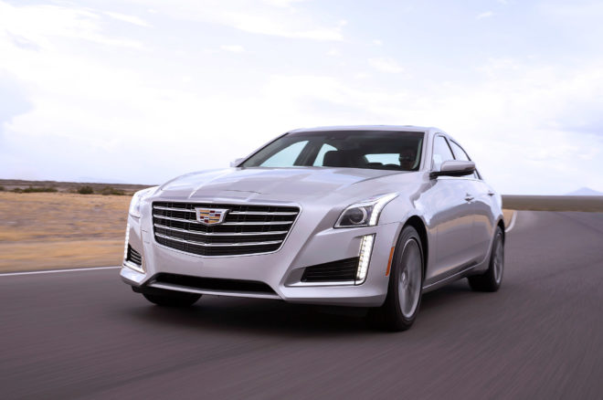 2017 Cadillac CTS Front In Motion 2 660x438
