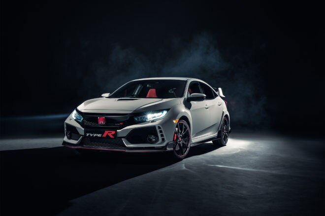 2017 Honda Civic Type R front three quarter