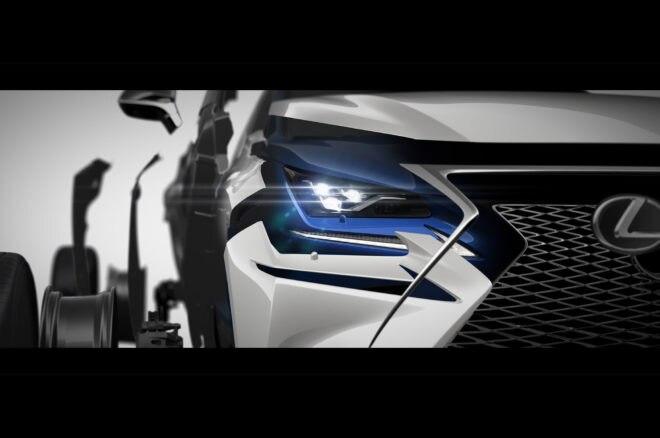 2017 Lexus NX Refresh Shanghai Teaser 660x438