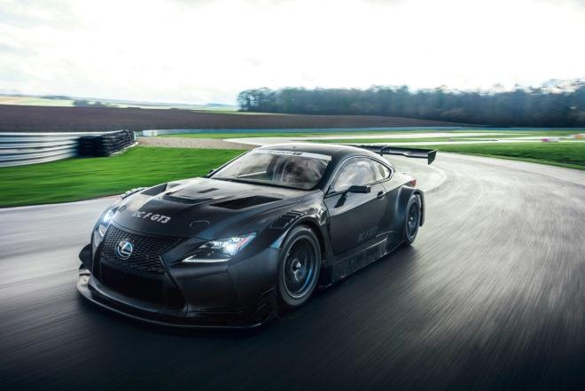 2017 Lexus RC F GT3 Dynamic  660x441