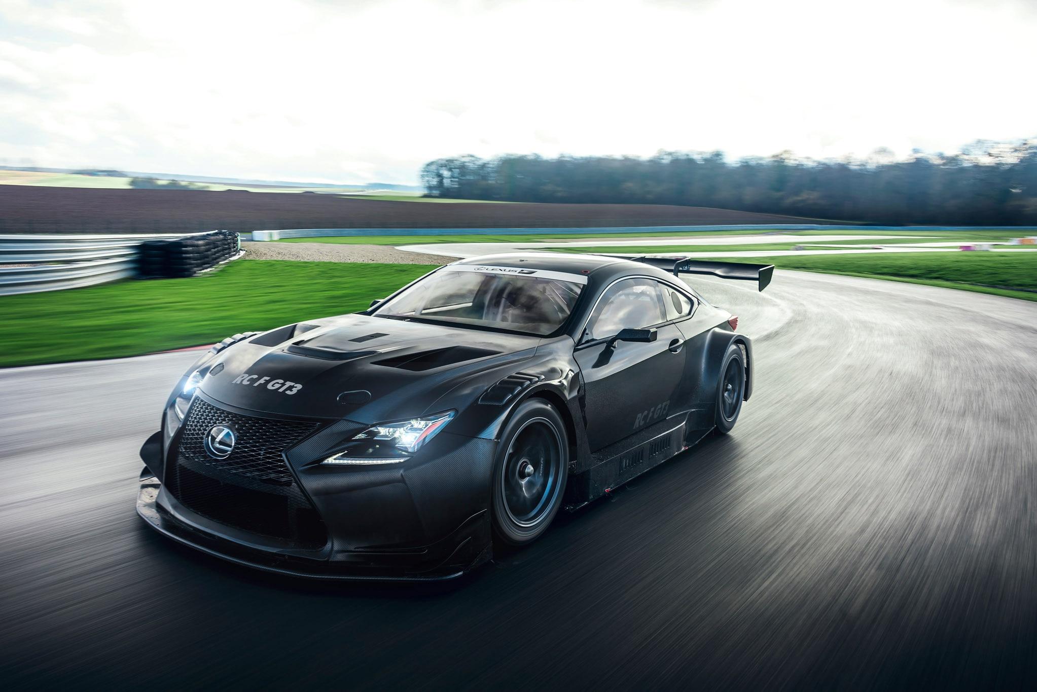 2017 Lexus RC F GT3 Dynamic