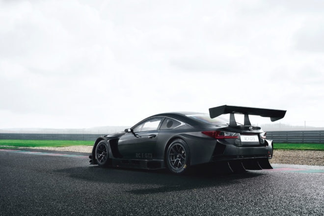2017 Lexus RC F GT3 Dynamic Rear