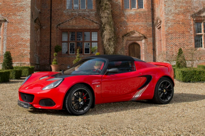 2017 Lotus Elise Sprint Front Three Quarters 660x438