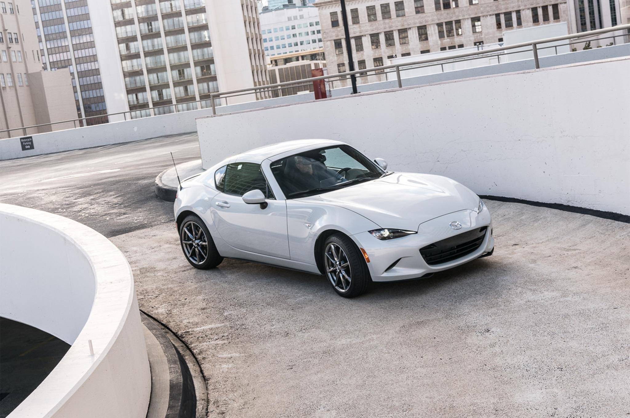 2017 mazda mx 5 miata rf first drive review automobile. Black Bedroom Furniture Sets. Home Design Ideas