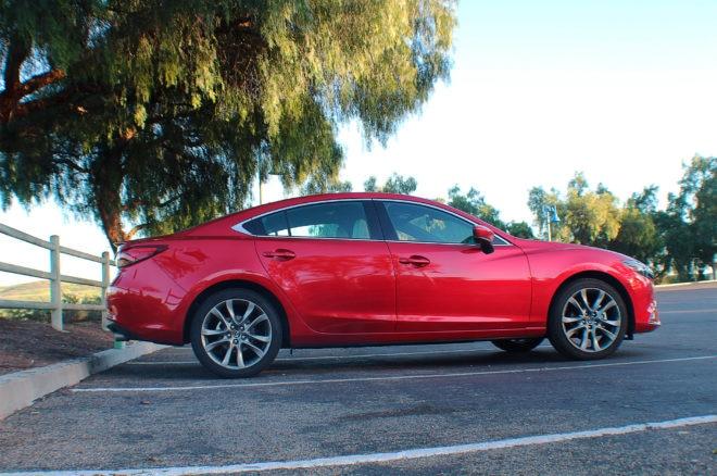 2017 Mazda6 Grand Touring side